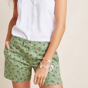 Anthro Sanctuary Odyssey Shorts Floral